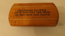 Vtg Chatham Fluffie Wool Coat/Jacket Brush
