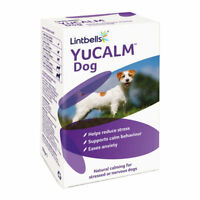 YuCalm Dogs Calming Tablets  30 pack Stress Nerves Anxiety Calm Dog