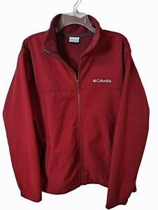 Columbia Full Zip Coat Fleece Interior Lining RN 69724 CA 05367 Men's Size Large