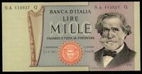 ITALY 1000 LIRE G.VERDI  1969 UNC. (FDS) FIRST SERIE SEE PICTURES WONDERFUL