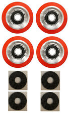 4 x Superior Quality Orange Drum Roller Bearing For Huebsch/Sq/Ipso - 70568201