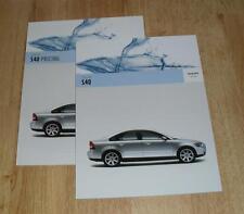 Volvo S40 Brochure Set 2005 - S SE Sport - 1.6 1.8 2.4 T5 1.6D 2.0D
