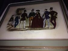 Vintage Retro Set of 6 Pimpernel coasters 19th century Fasion boxed