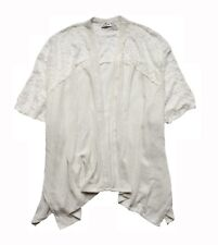 NEW HOLLISTER WOMEN'S OPEN FRONT KNIT KIMONO COVER-UP TOP WRAP LACE CARDIGAN OS