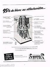 PUBLICITE ADVERTISING 105  1954  les PROCEDES SAUTER   réfléctométre
