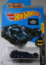 Hot Wheels Blue Batman The Dark Knight Batmobile 3/5 Long Card