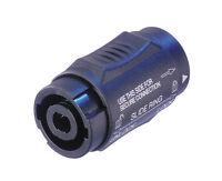 Speakon Adapter Neutrik NL4MMX /  Speakonverbinder Speakon Verbinder