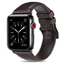 Apple Watch Series 4/3/2/1 42mm Genuine Premium Leather Replacement Bands 44mm
