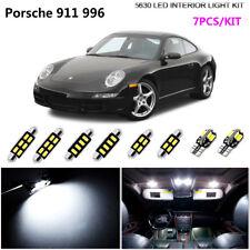 7Pcs HID White 6K Interior Light Kit LED Fit Porsche 911 996Carrera Turbo Cabrio