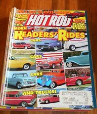 HOT ROD MAGAZINE Aug 1991- Reader's Rides, 32 Valve Chevy heads,Pro Street how-t