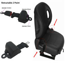 Retractor+Buckle Universal Auto Car Truck Seat Belt Adjustable Safety Accessory