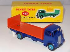 dinky GUY FLAT TRUCK WITH TAILBOARD  - 433