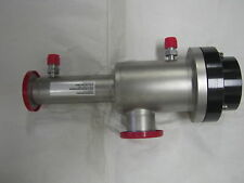 MKS HPS 839-013521-001 High Vacuum Isolation Valve , KF40 Flanges (2)