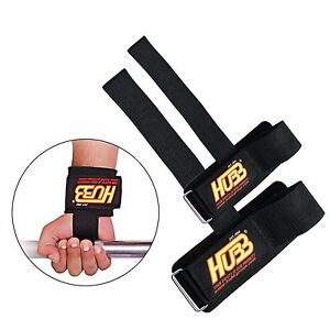Wrist Bar Straps Support Heavy Weight Lifting Bar Wraps HG604