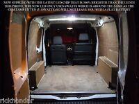MK6 + 7 Ford Transit Van Inc Connect TDCI Rear Interior LED Loading Light Kits