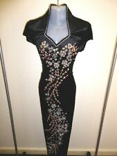 SALE! Size 16 (XXL) (D12-BOR) New Dinner Prom Long Dress Party Gown with Sequins