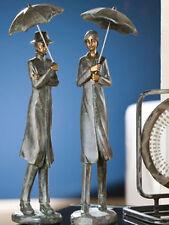Gilde Couple in the Rain Pair Sculpture Figure Lovers - 20072