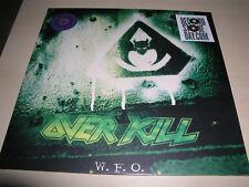 Overkill - W.F.O. LP / Green & Black Vinyl  First Press Testament Kreator Slayer