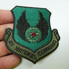 $5 Blow Out Sale: Lot of 2 USAF Materiel Command Uniform Patch (b6)