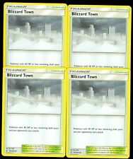 Pokemon BLIZZARD TOWN 187/236 Unified Minds - - MINT 4X