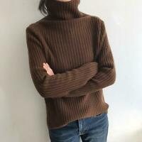 Women Girls Slim Cashmere Turtleneck Pullover Sweater Casual Knitted Tops Winter