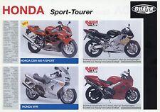 Prospekt Shark Honda CBR 600 F VFR  XRV 750 XR 650 R VTR 1000 F 1000 SP-1 1100
