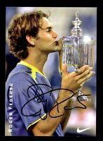 Roger Federer Autogrammkarte Tennis Legende