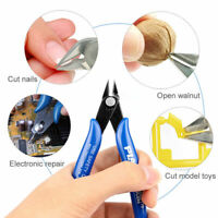 Mini Flush Side Cutter Precision Shear Wire Snips Pliers Tools Diagonal-Cutters