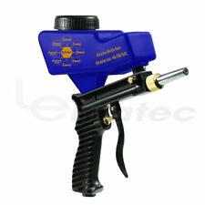 Portable Gravity Sandblasting Gun LEMATEC Sandblaster gun remove rust paint dirt