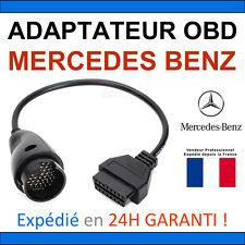 Adaptateur OBD2 vers MERCEDES BENZ 38 BROCHES - DIAG Auto - STAR MB COM