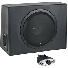 """ROCKFORD FOSGATE P300-12 300 WATTS 12"""" POWERED AMPLIFIED SUBWOOFER ENCLOSURE BOX"""