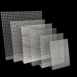 Streck-, Wellen- & Hexagonalgitter Aluminium Stahl Edelstahl t=1,5 & 2,0mm