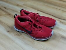 Nike Flyknit Lunar 1 Gym Red/Black Running Shoes Size 10.5US 554887-601