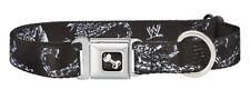 "WWE WCW nWo Sting Dog COLLAR And LEASH Medium ""Scorpion"" Buckle-Down"