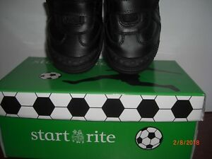 Start-rite  Boys CUP FINAL Rip-tape School Shoe Size 9.H WIDE FIT  At Sale Price