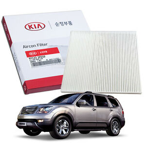 OEM Genuine Parts Cabin Air Filter 97133-2F010 for KIA 2009-2015 Borrego Mohave