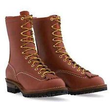 """Wesco Jobmaster 10"""" Redwood Boots RW 110100"""