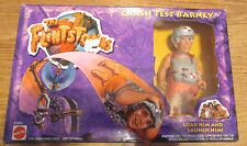The Flintstones Movie CRASH TEST BARNEY w/Accessories Action figure Mattel 1993