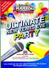 StarTrax KARAOKE CD+G ULTIMATE NEW YEARS EVE HOLIDAY PARTY MUSIC w/ LYRICS! OOP!