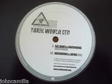 "GAZ JAMES & HAUSWERKS - NIGHTBREED 12"" RECORD / VINYL - TOXIK WORLD LTD - TW004"