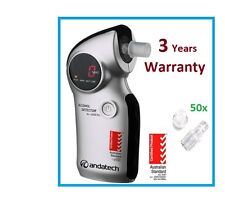 Andatech AlcoSense AL6000 Pro Alcohol Breathalyser, 3 year Warranty