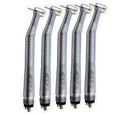 5* NSK type Dental High Speed Handpiece Push Button Needle 4 Hole Denest 1 Spray
