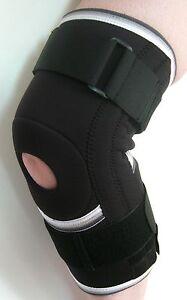 Knee Support Brace Sport Protection Open Patella Adjustable Strap