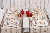 Tischläufer Nostalgie aus Linclass® Airlaid 40 cm x 4,80 m, 1 Stück - Weihnacht