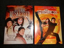 LA FEMME MUSKETEER & THE MEDALLION-2 movies-JOHN RHYS-DAVIES, NATASSJA KINSKI