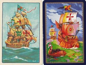 Swap Playing Cards x 1 pair   Boats Ships
