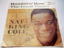 Nat King Cole Ramblin Rose 1962 Capitol 4804 Pop Pictur Sleeve 45rpm VG++