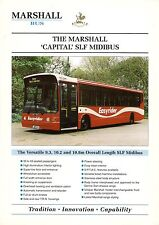 "Specification Sheet ~ Marshall - ""Capital"" SLF Midibus: Dennis Dart: Isle of Man"