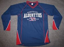 Montreal Alouettes CFL football shirt jersey style blue canadian canadiens Small