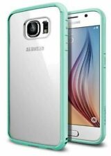 Spigen Hybrid Crystal Phone Case Cover for Samsung Galaxy S6 (2015) ~ Mint ~ NEW